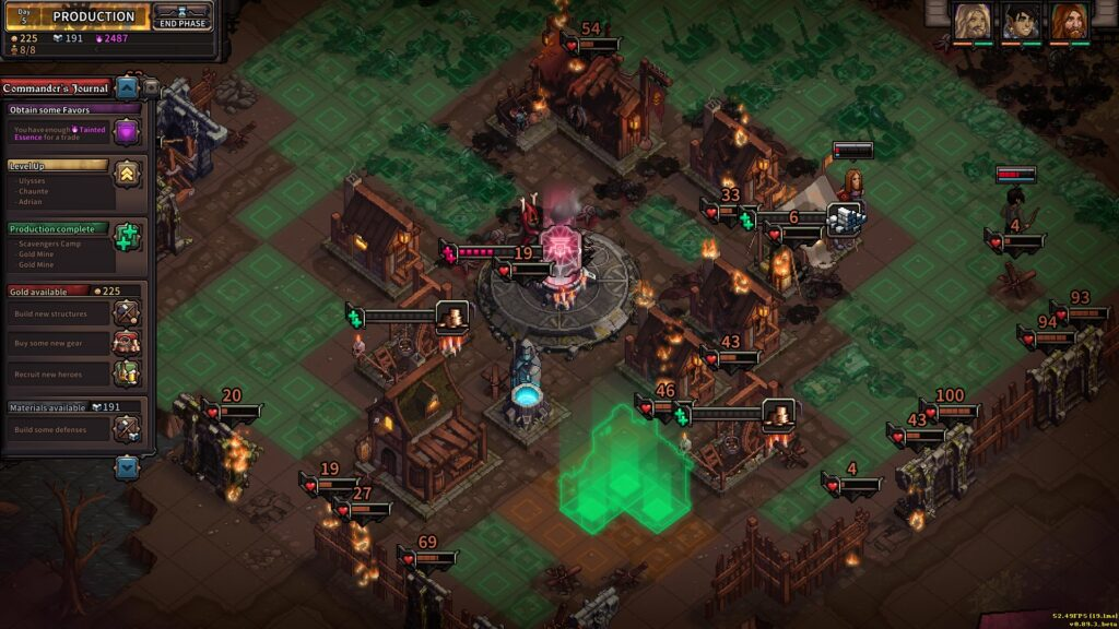 the last spell is now available in early access and its a blast city management