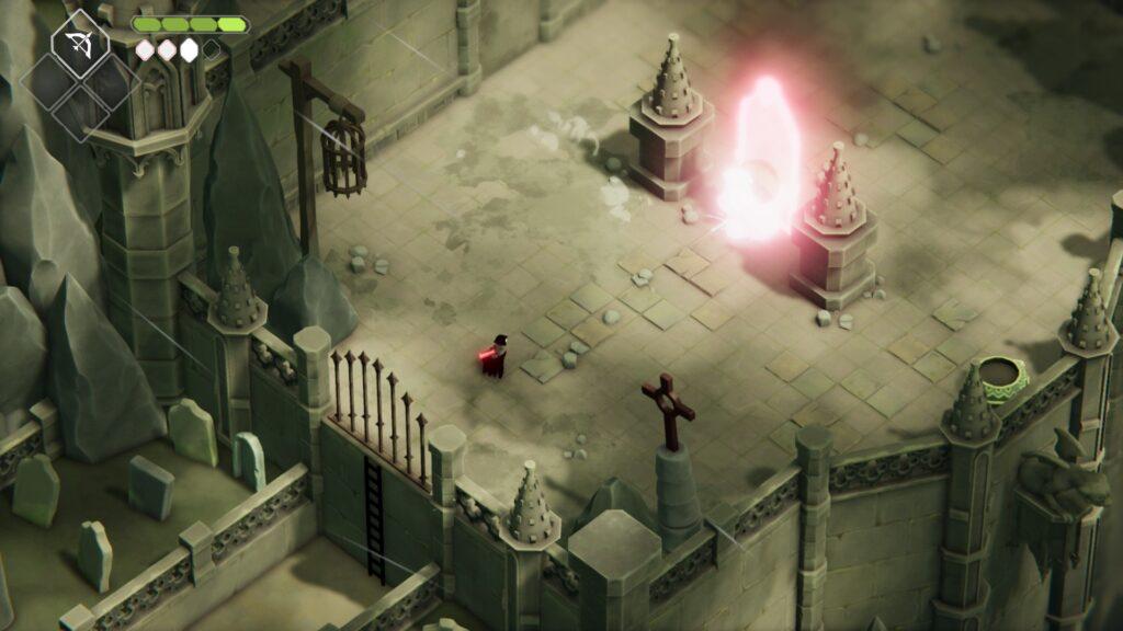 Death's Door Walkthrough Lost Cemetery Image 6