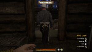 Henry sneaking behind Miller Peshek in KCD