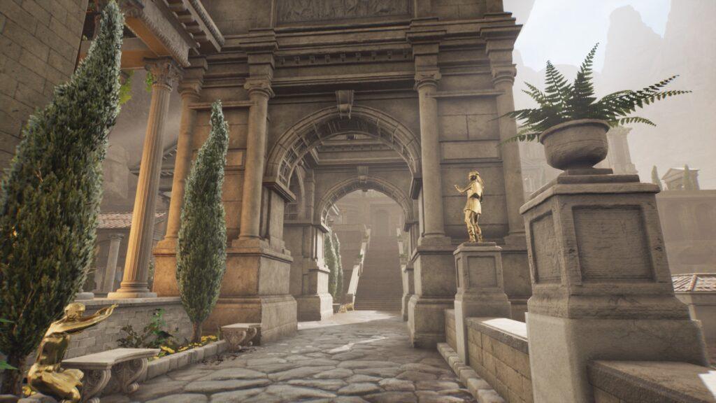 4 way arch the forgotten city walkthrough