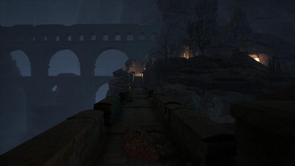 crossing the bridge the forgotten city walkthrough