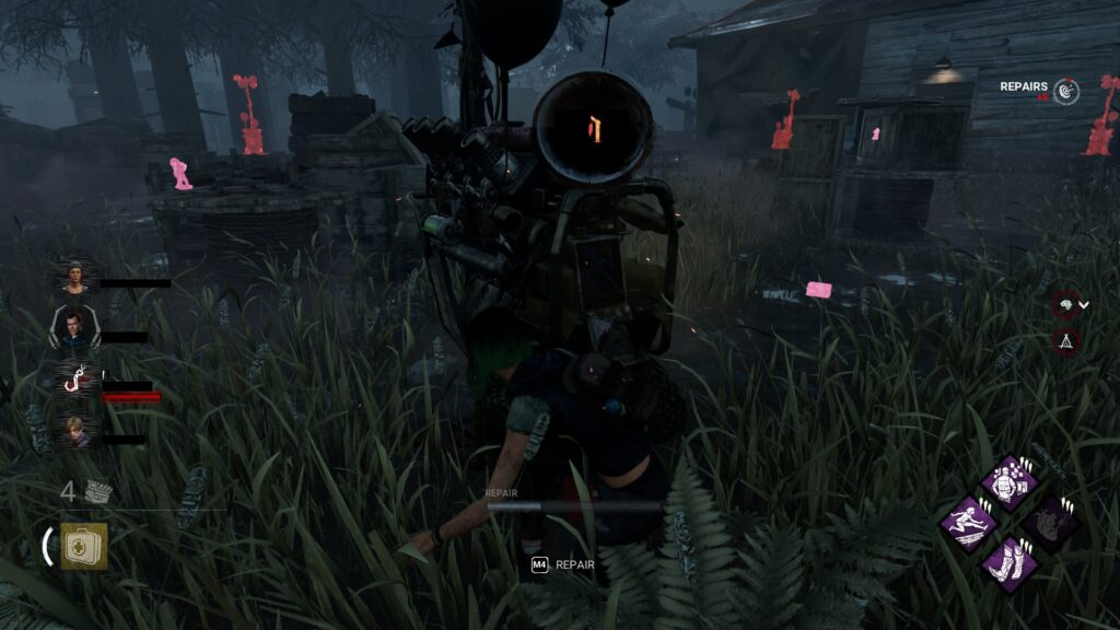 dbd tips and tricks hiding from bbq