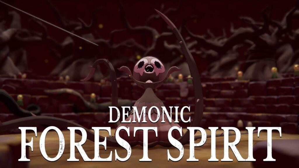 deaths door walkthrough demonic forest spirit