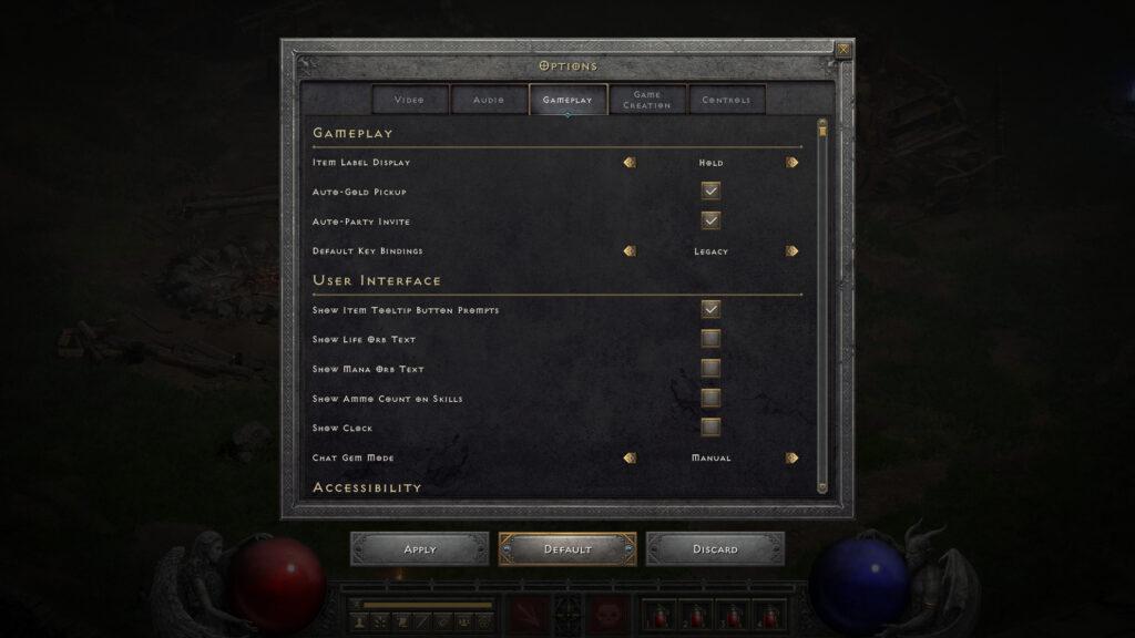 diablo 2 optional changes more key bindings