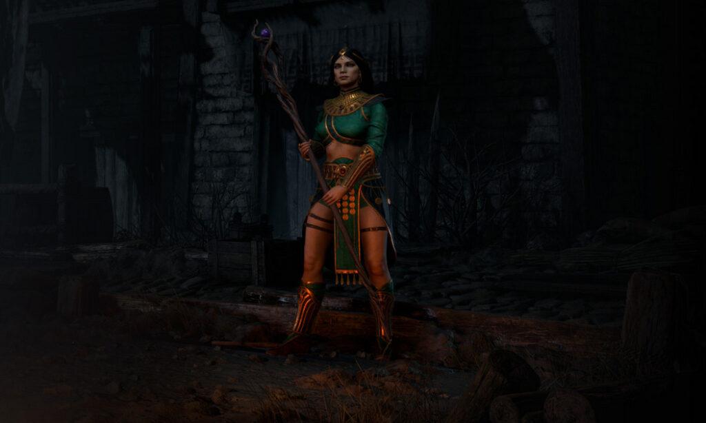 diablo 2 optional changes sorceress new look