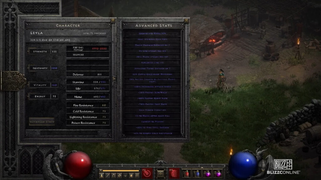 diablo ii technical alpha quality of life features