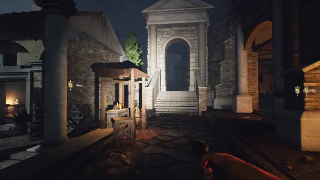 exploring the forgotten city spooky