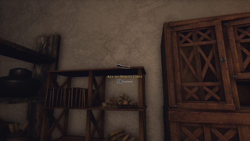 key to desiuss chest