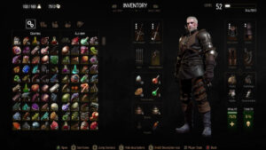 Geralt Witcher 3 Component Guide