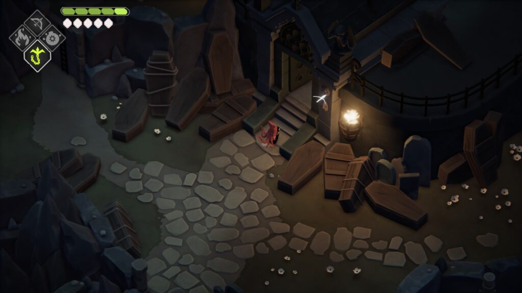 stranded sailor lost cemetery night deaths door entering the crypt walkthrough