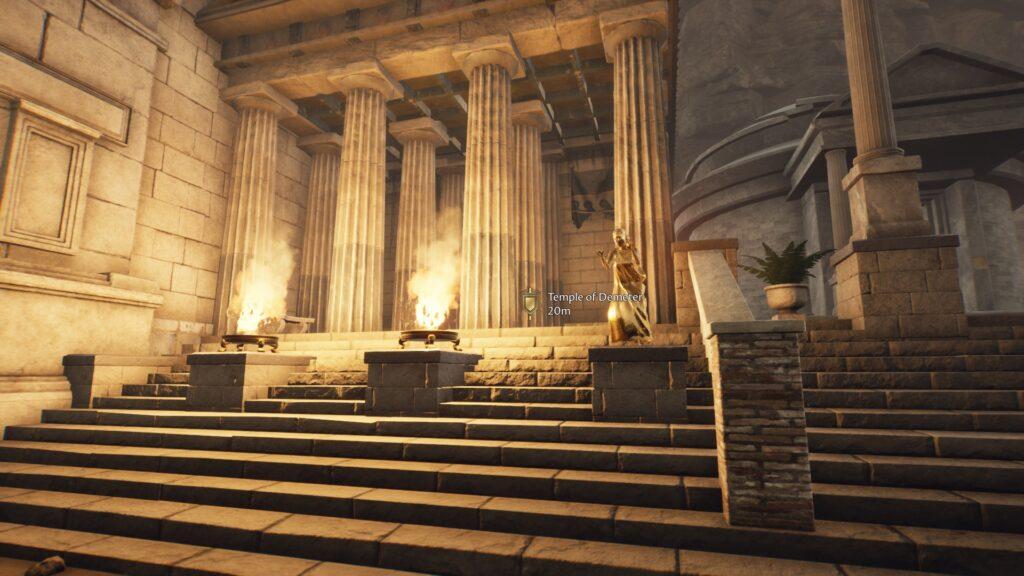 temple of demeter the forgotten city walkthrough