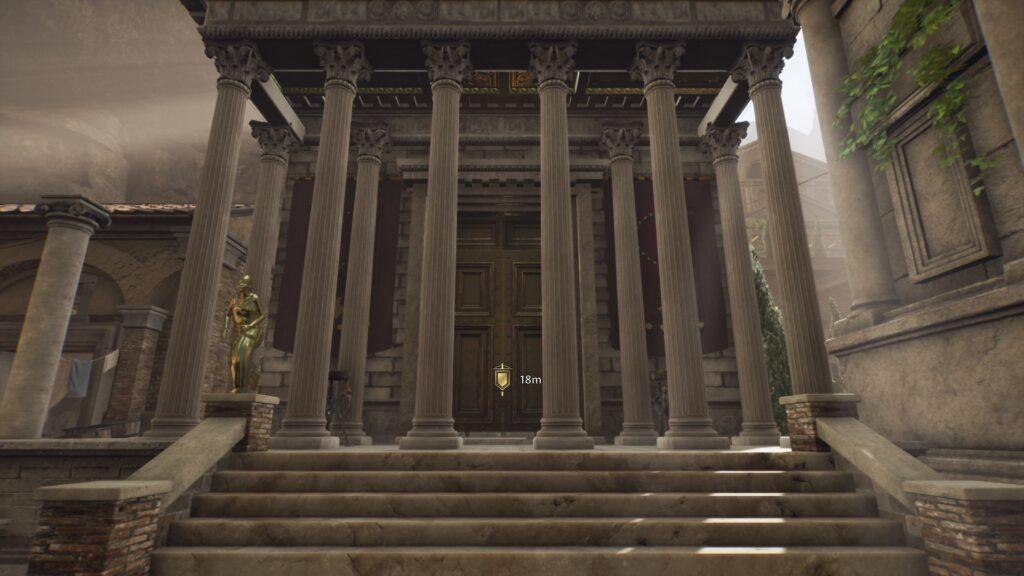 the shrine of diana the forgotten city walkthrough