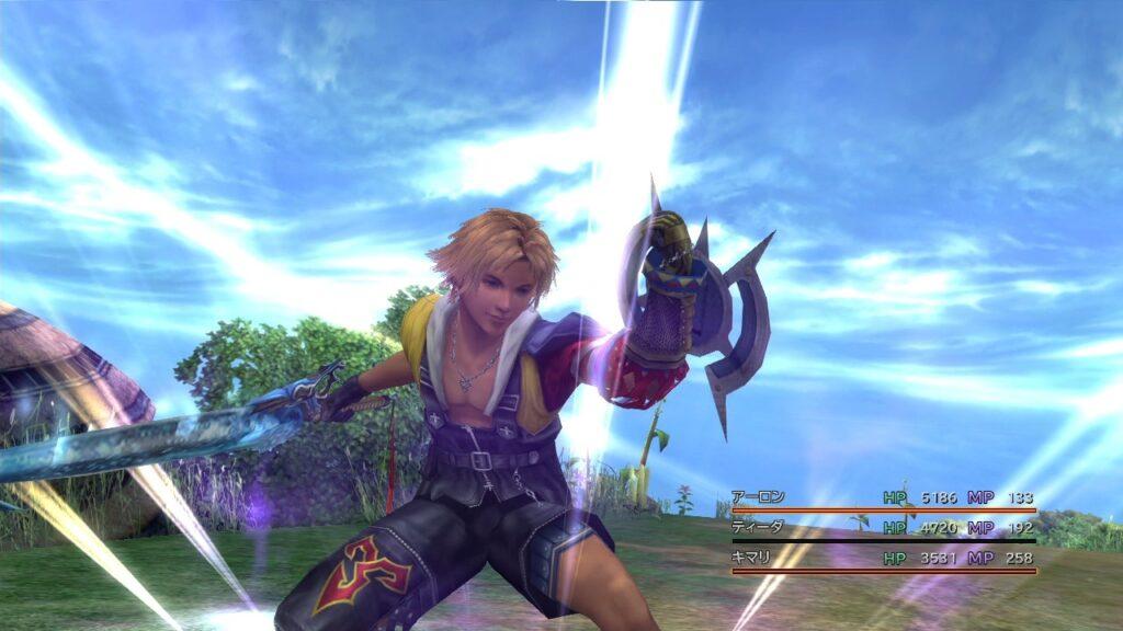 final fantasy hd remaster battle system tidus 812517403
