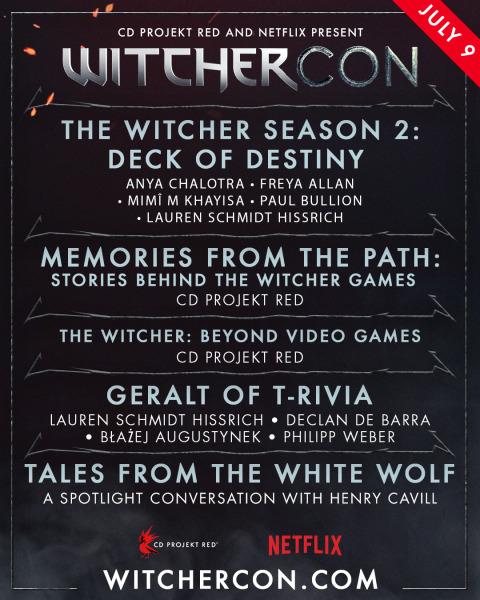 WitcherCon Agenda Banner