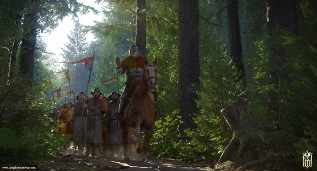 kingdom come forest combat