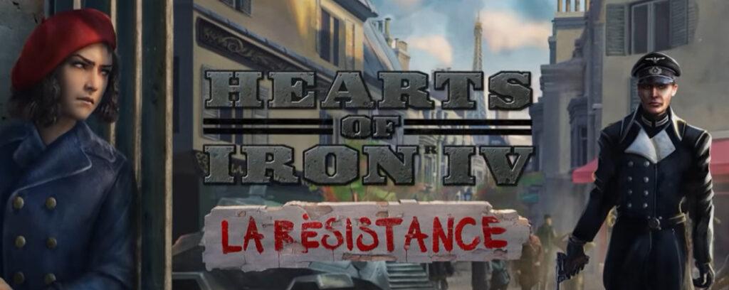 The La Résistance DLC in Hearts of Iron IV.