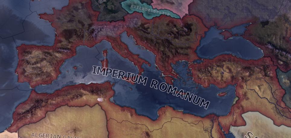 United Roman Empire in Hearts of Iron IV