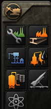 The Shared Buildings menu in Hearts of Iron IV.