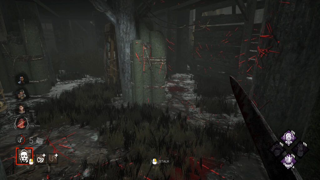 blood trails how to find survivors dbd guide