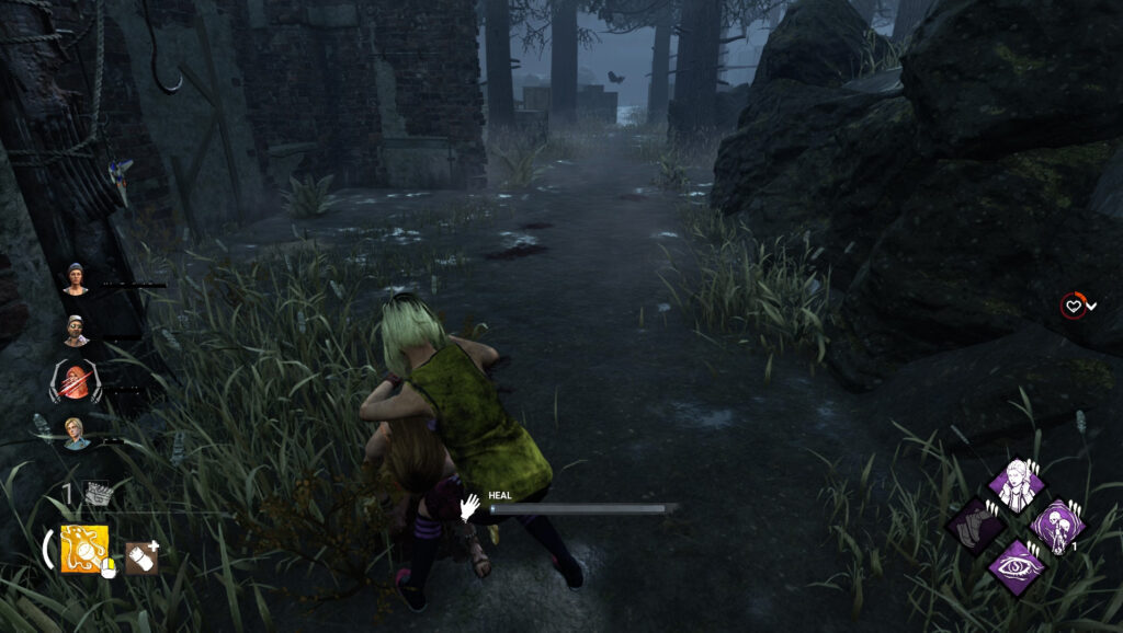 healing other survivors dead by daylight how to rank up guide