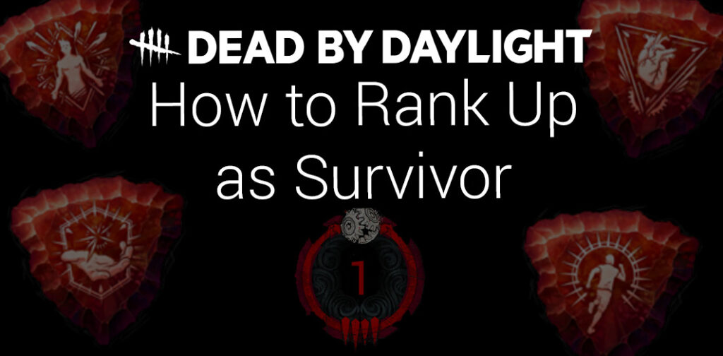 how to rank up pip as survivor featured image dead by daylight guide