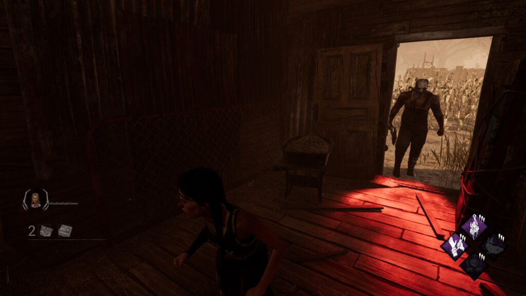 killers red stain 2 dbd guide hiding finding survivors