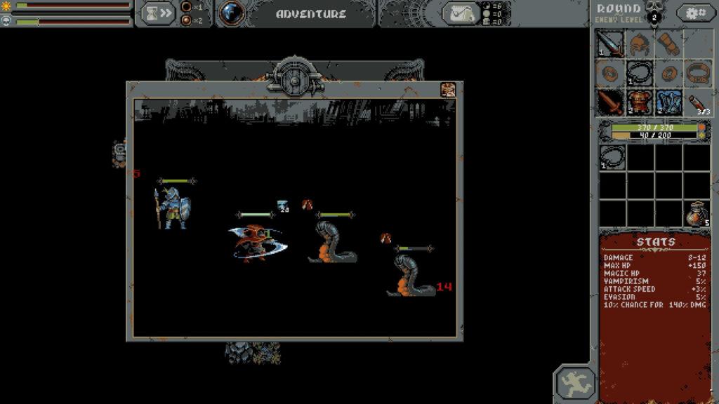 loop hero review combat image