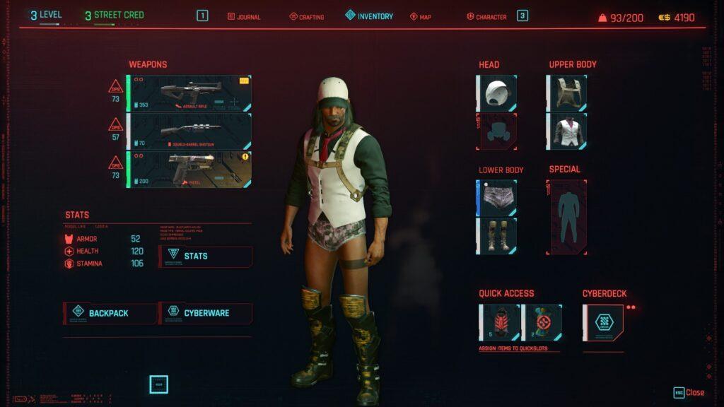 my strongest gear cyberpunk 2077 review