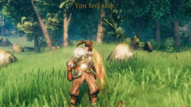 valheim hearth home bukeperries puking to clear up food
