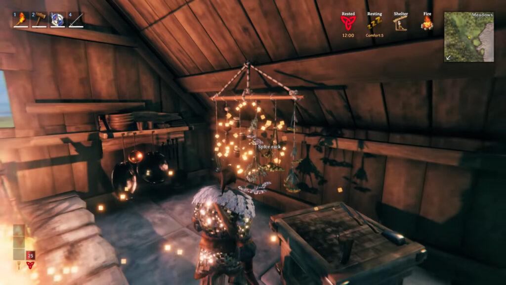 valheim hearth home cauldron upgrade extensions