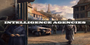 Intelligence Agencies cover in Hearts of Iron IV.