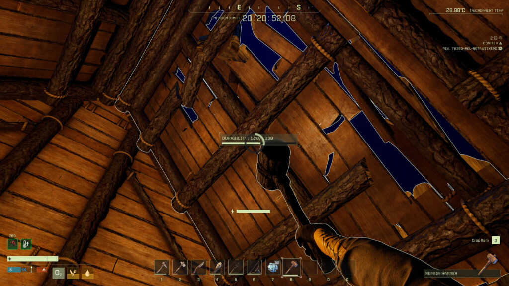 beginners guide icarus repairing house damage after storm