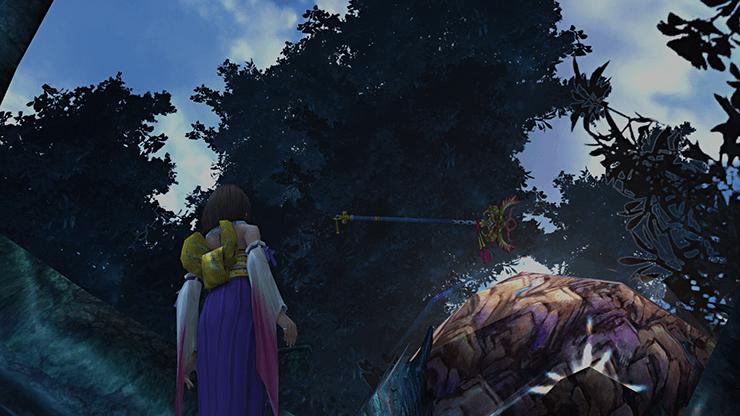 ffx hd 01551 macalania woods celestial weapon nirvana