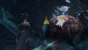 ffx hd 01555 macalania woods celestial weapon onion knight