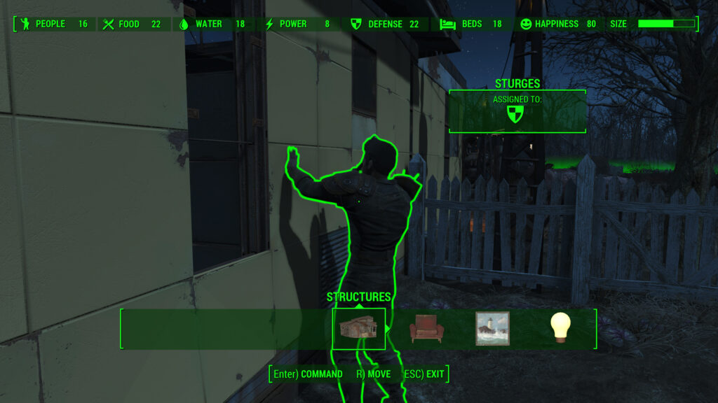fallout 4 settlement happiness assign settlers
