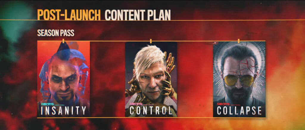 far cry 6 post launch content season pass
