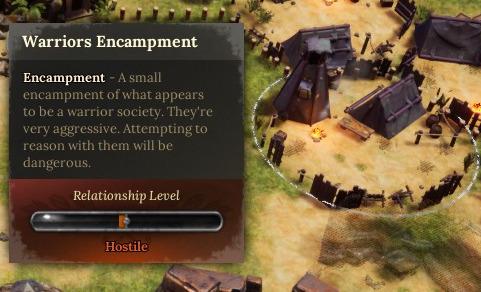 hostile encampment dice legacy guide