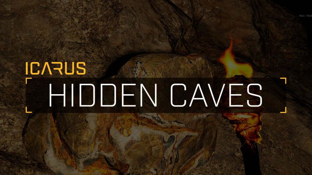 how to find hidden caves in icarus