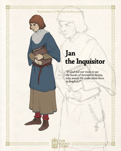 jan the inquisitor kcd board game