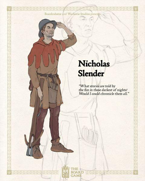 nicholas slender kcd board game