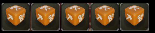 stranded king starting dice legacy