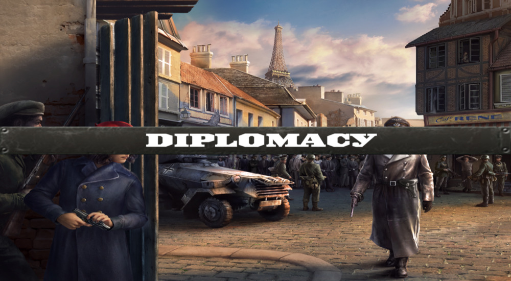 Diplomacy featured image for Hearts of Iron IV.