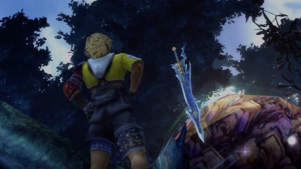final fantasy x celestial weapons screenshot
