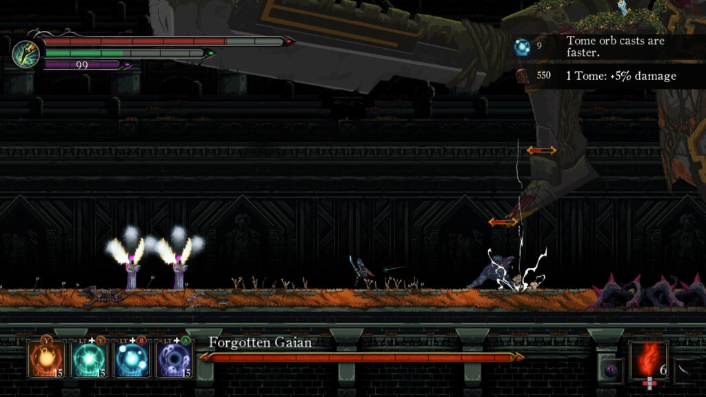 heroic boss fight deaths gambit afterlife review