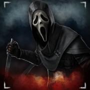 ghost face portrait dbd