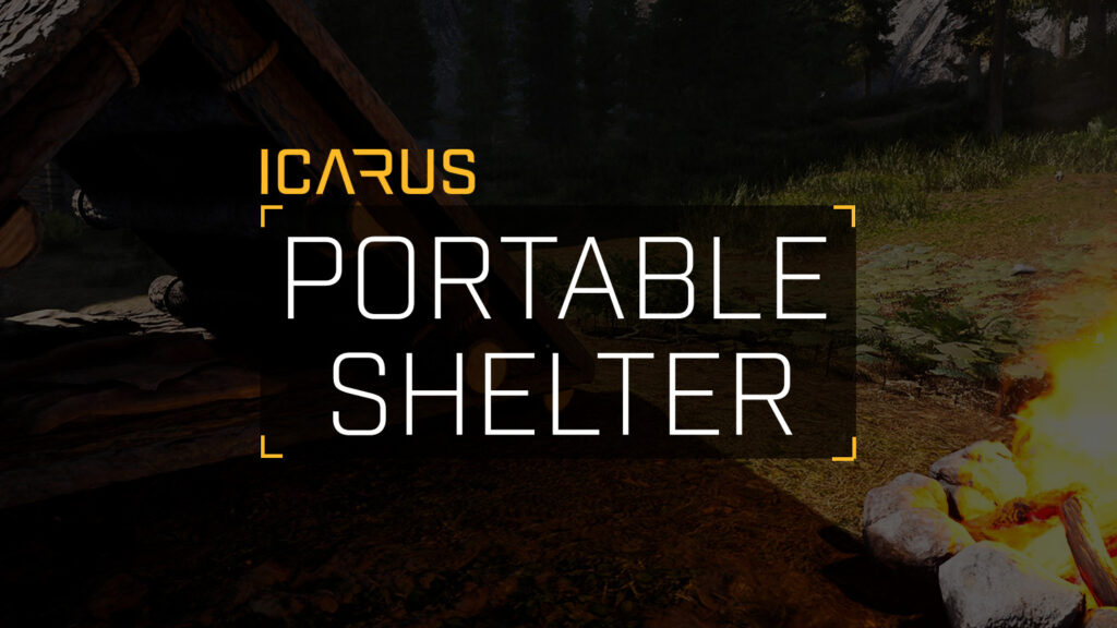 How to Create a Portable Shelter – ICARUS