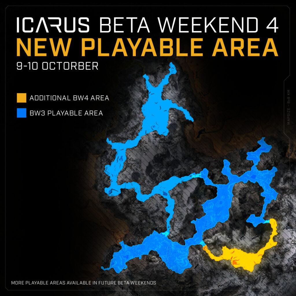 octorber beta weekend new playable area